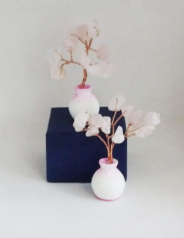 Букетче с розов кварц